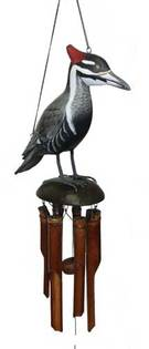 Pileated Woodpecker wind chime