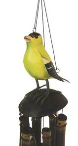 American Goldfinch Wind Chime